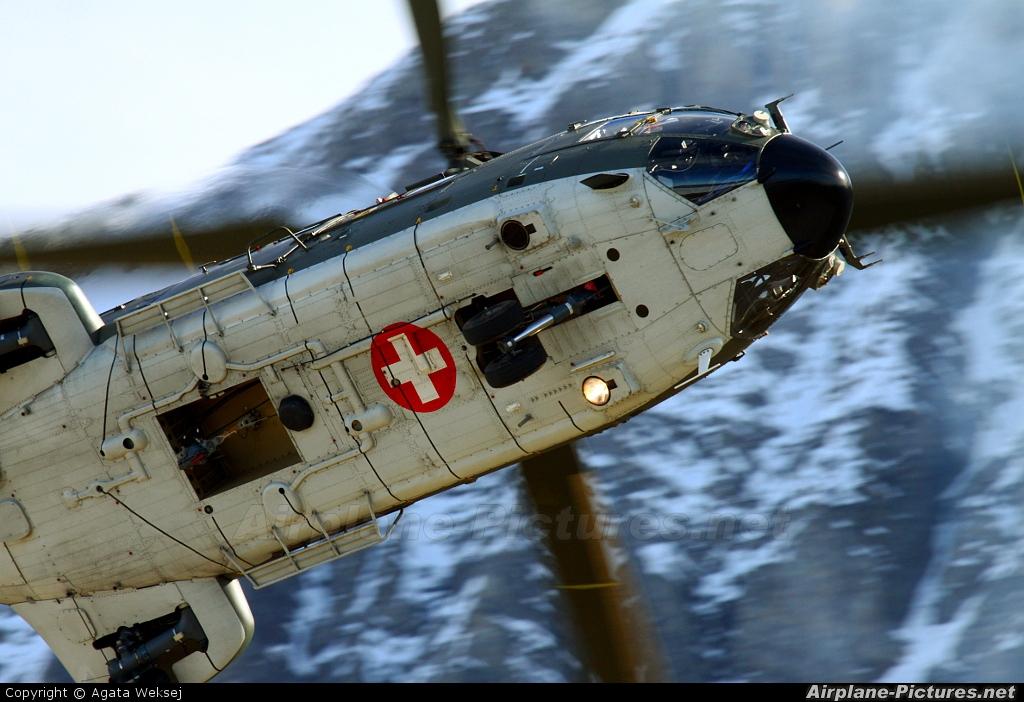 Switzerland - Air Force T-338 aircraft at Axalp - Ebenfluh Range
