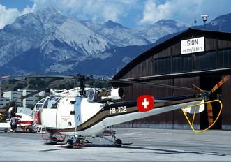 HB-XCB - Air Glaciers Sud Aviation SA-316 Alouette III
