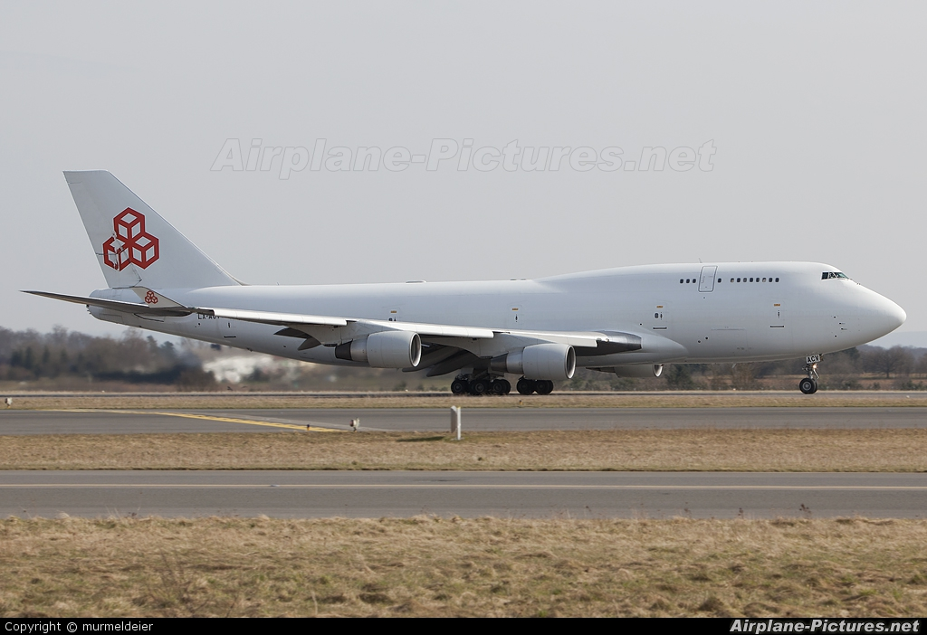 Cargolux LX-ACV aircraft at Luxembourg - Findel