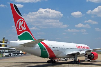 5Y-KQT - Kenya Airways Boeing 777-200ER