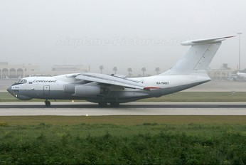 RA-76403 - Continent Ilyushin Il-76 (all models)