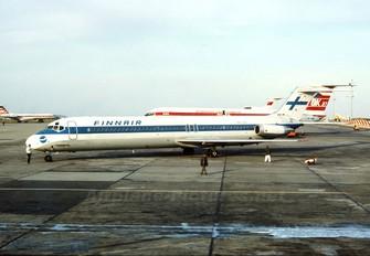 OH-LYU - Finnair Douglas DC-9