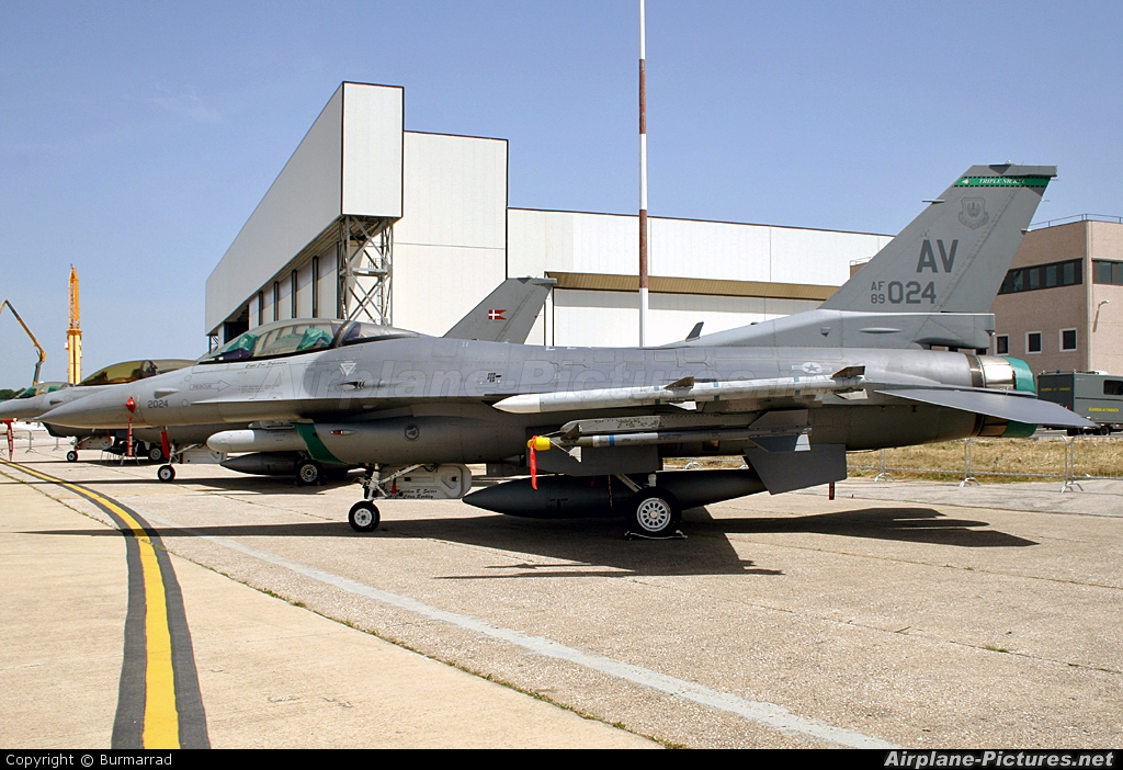 USA - Air Force 89-2024 aircraft at Pratica di Mare