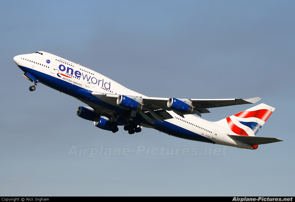 British Airways G-CIVZ aircraft at London - Heathrow