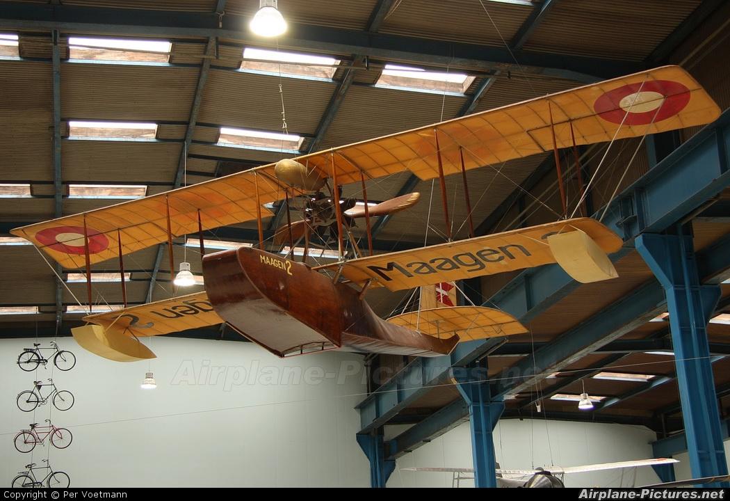 Denmark - Navy MAAGEN 2 aircraft at Helsingor - Danmarks Tekniske Museum