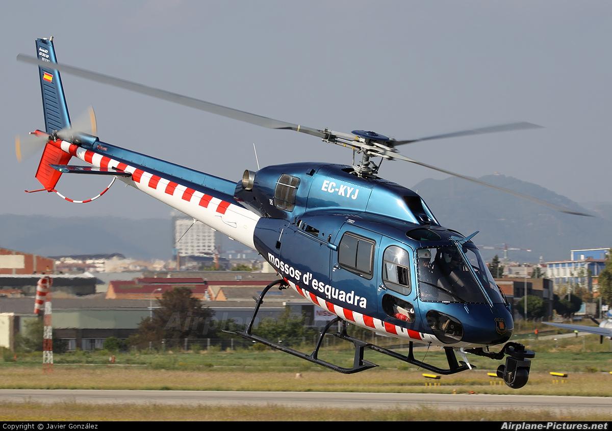 Spain - Police EC-KYJ aircraft at Sabadell