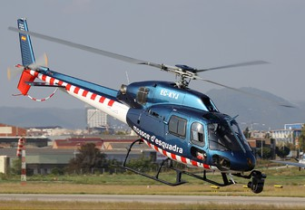 EC-KYJ - Spain - Police Aerospatiale AS355 Ecureuil 2 / Twin Squirrel 2