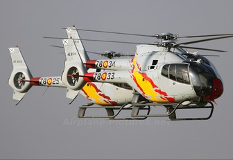 HE.25-14 - Spain - Air Force: Patrulla ASPA Eurocopter EC120B Colibri