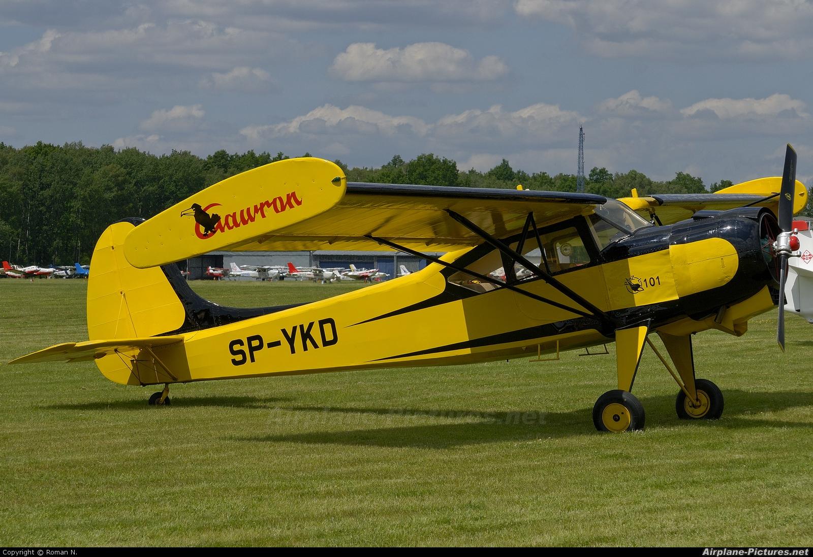 Private SP-YKD aircraft at Góraszka