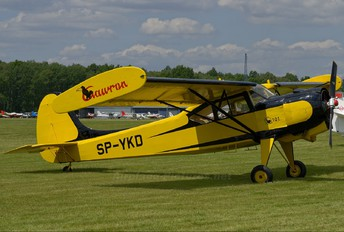 SP-YKD - Private PZL 101 Gawron