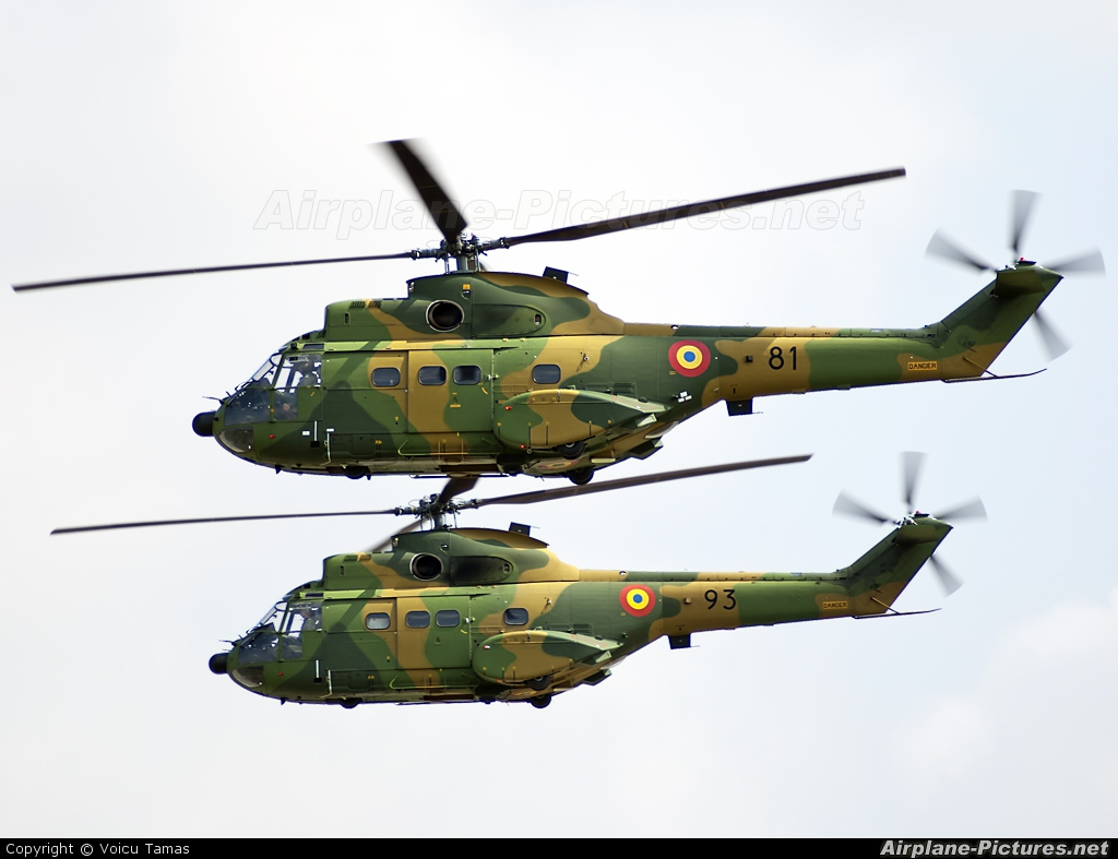 Romania - Air Force 81 aircraft at Timisoara - Traian Vuia