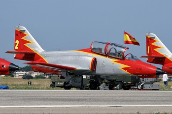 E.25-06 - Spain - Air Force : Patrulla Aguila Casa C-101EB Aviojet