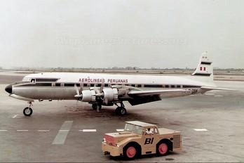 OBR784 - Aeroperu Douglas DC-7B
