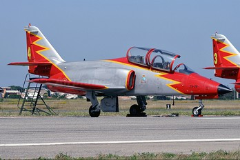 E.25-28 - Spain - Air Force : Patrulla Aguila Casa C-101EB Aviojet