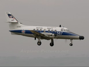 XX486 - Royal Navy Scottish Aviation Jetstream T.2