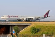 A7-AGC - Qatar Airways Airbus A340-600 aircraft