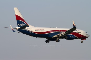 5N-MJN - Arik Air Boeing 737-800
