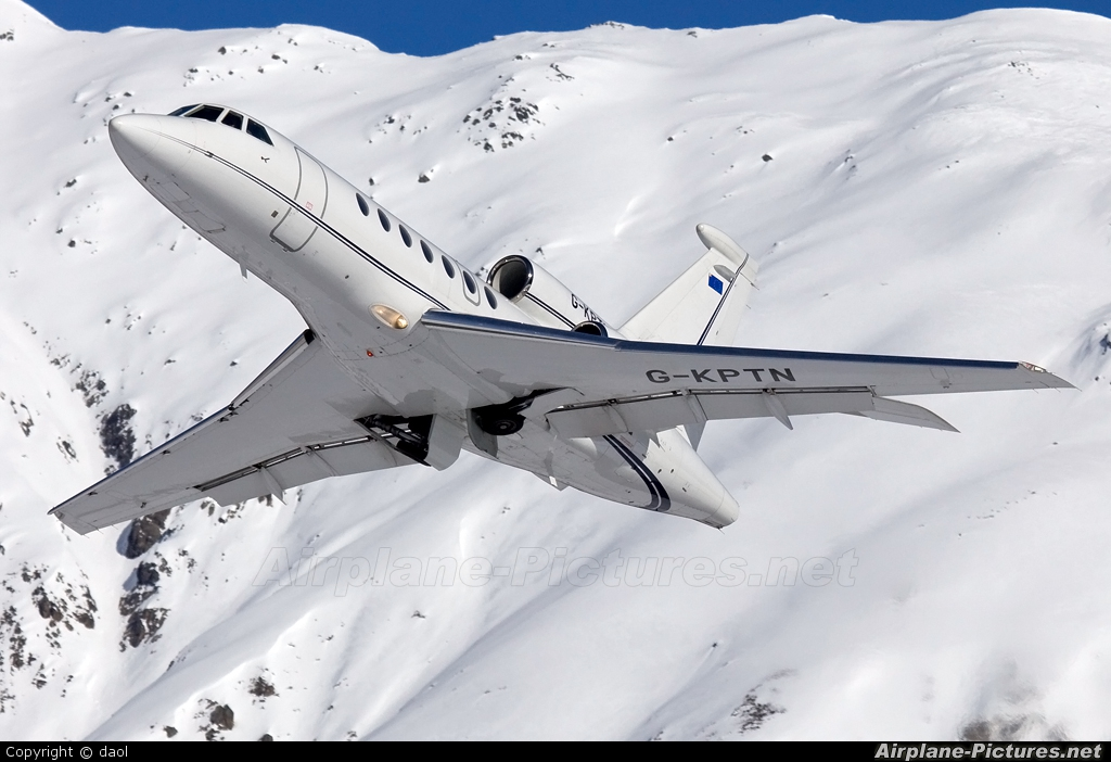 Private G-KPTN aircraft at Samedan - Engadin