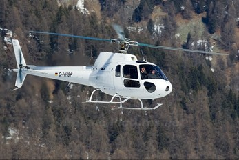 D-HHBP - HTM - Helicopter Travel Munich Aerospatiale AS350 Ecureuil / Squirrel