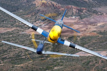 NL151RJ - Private North American P-51D Mustang