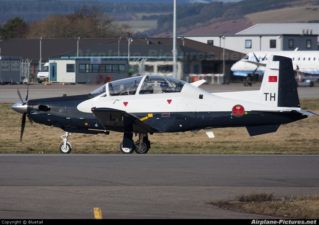 Morocco - Air Force 08 aircraft at Inverness