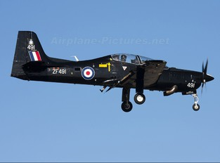 ZF491 - Royal Air Force Short 312 Tucano T.1