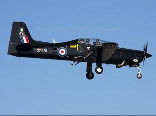 ZF491 - Royal Air Force Short 312 Tucano T.1