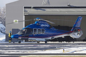 LN-OYD - Blueway Offshore Norge Eurocopter EC155 Dauphin (all models)