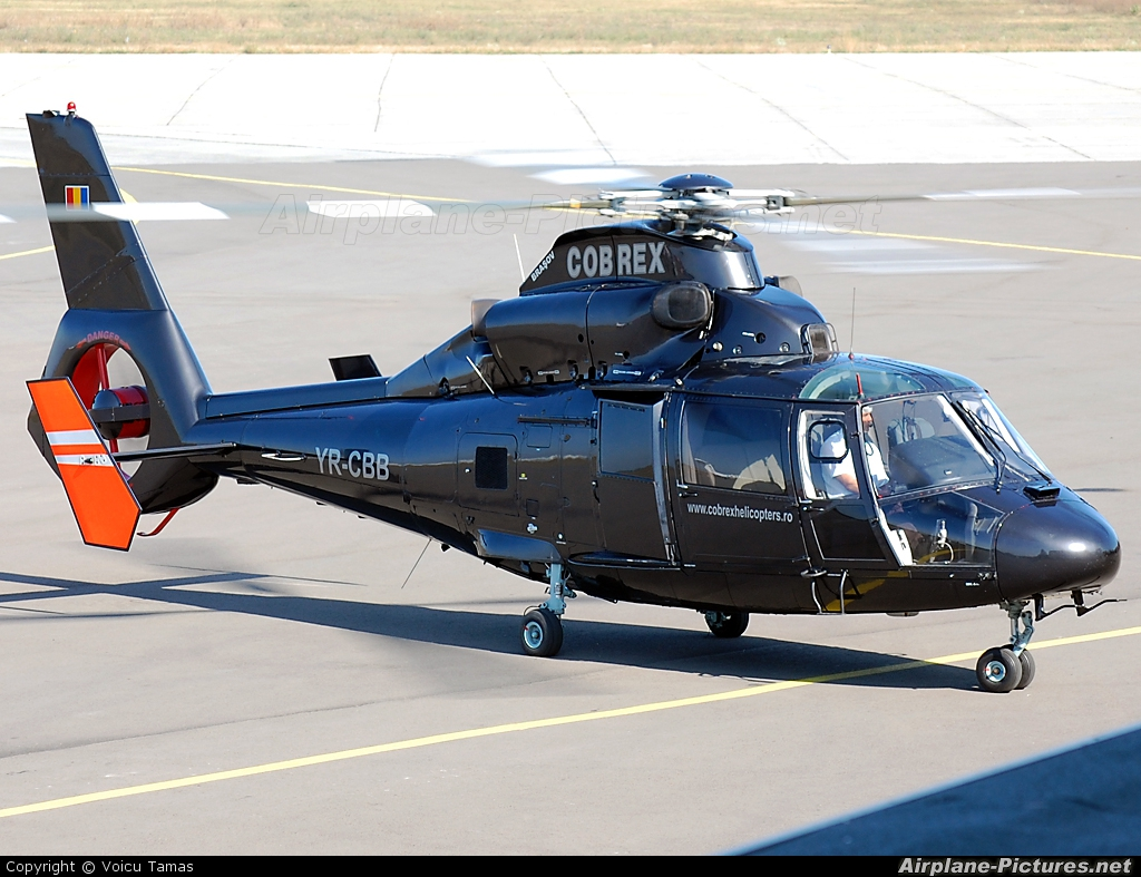 Cobrex Helicopters YR-CBB aircraft at Arad