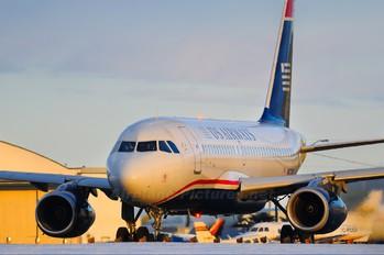 N807AW - US Airways Airbus A319