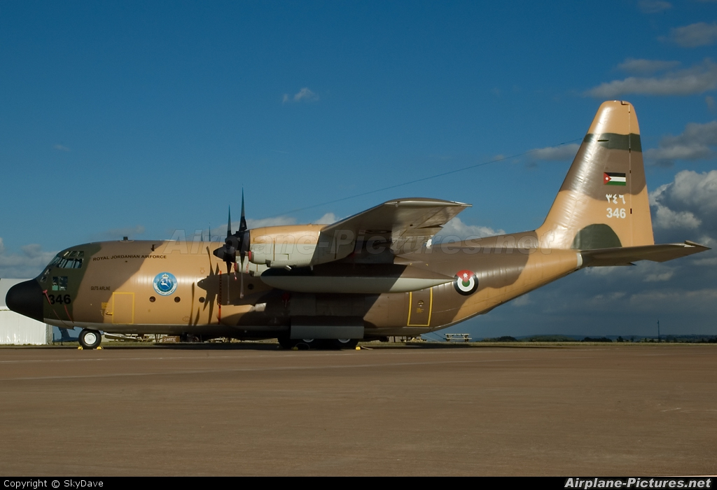 Jordan - Air Force 346 aircraft at Fairford