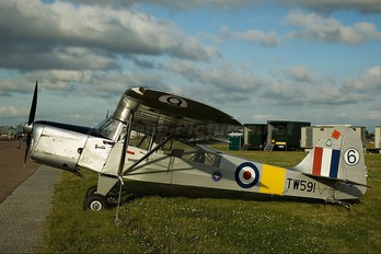 G-ARIH - Private Auster 6A Tugmaster