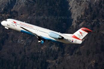 OE-LVK - Austrian Airlines/Arrows/Tyrolean Fokker 100