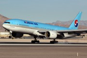 HL7764 - Korean Air Boeing 777-200ER aircraft