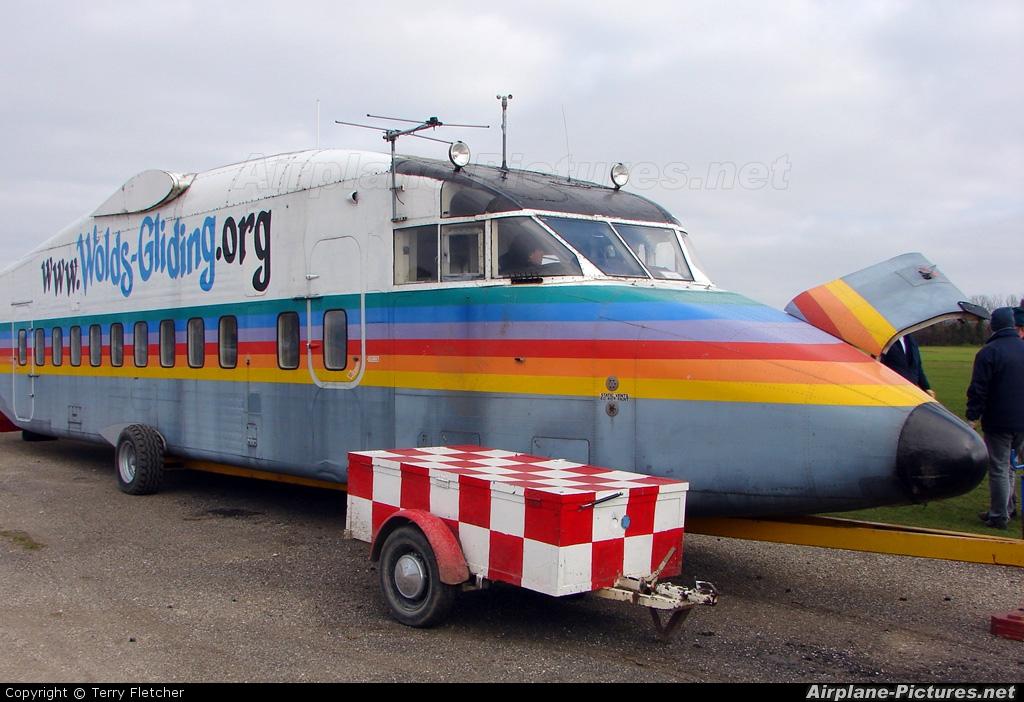 Private OY-MUB aircraft at Pocklington