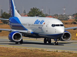 YR-BIB - Blue Air Boeing 737-800