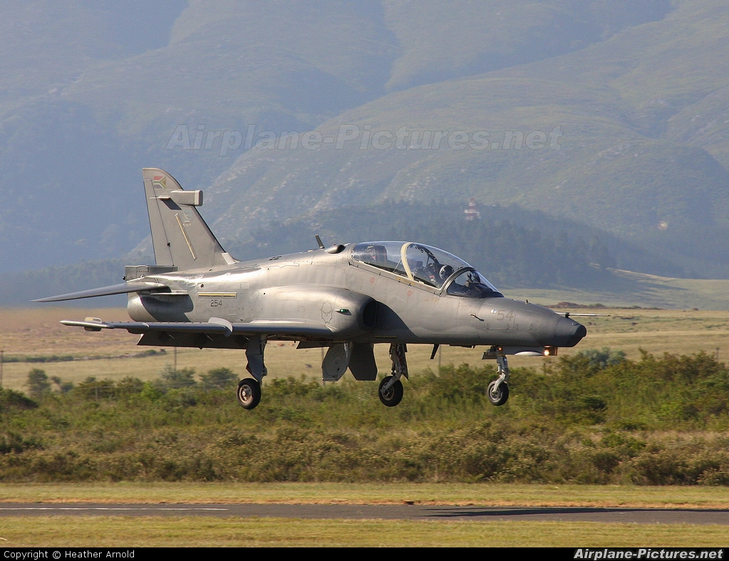 South Africa - Air Force 254 aircraft at Swellendam