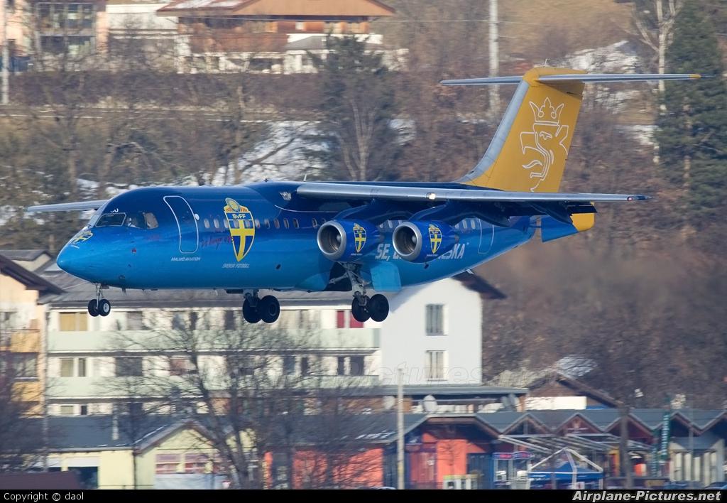 Malmo Aviation SE-DSU aircraft at Innsbruck