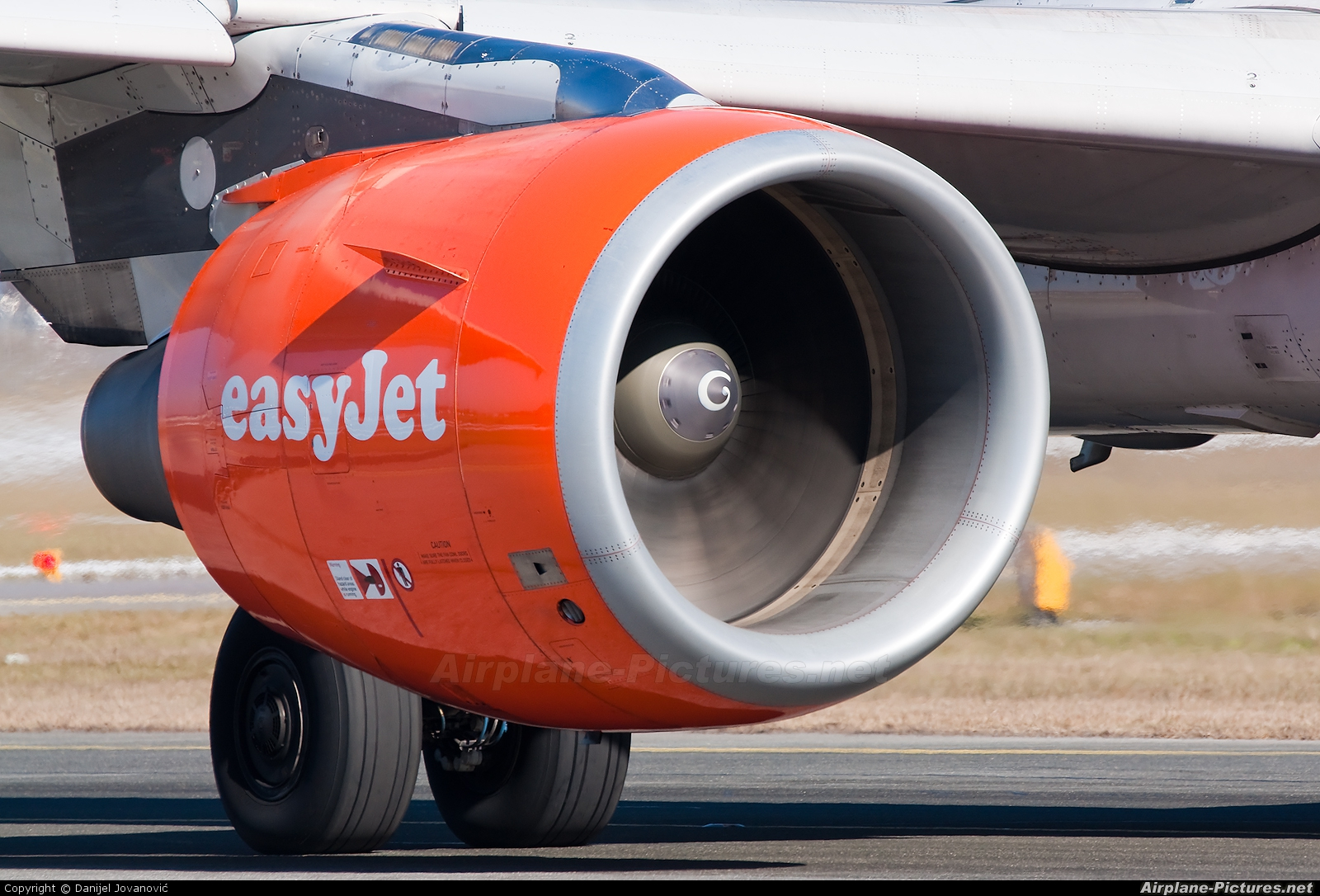 easyJet G-EZAB aircraft at Salzburg