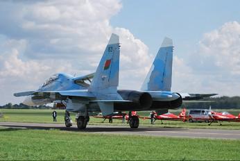 63 - Belarus - Air Force Sukhoi Su-27UBM