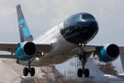 XA-UBT - Mexicana Airbus A318 aircraft