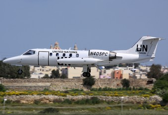 N405PC - United Nations Learjet 35