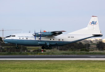 UR-CCP - AeroVis Airlines Antonov An-12 (all models)