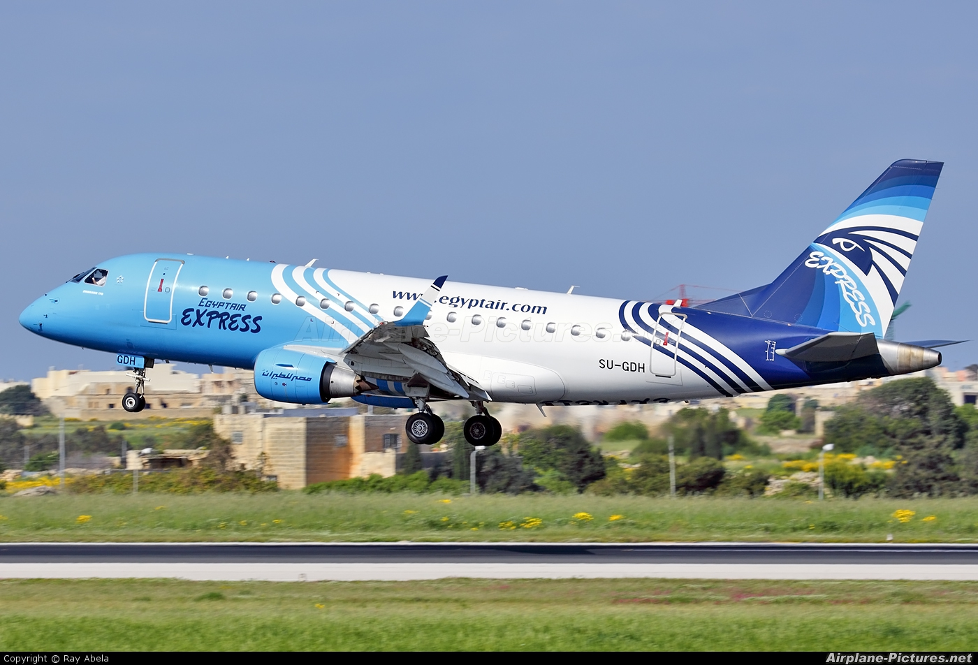 Egyptair Express SU-GDH aircraft at Malta Intl