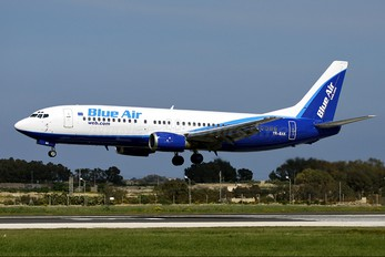YR-BAK - Blue Air Boeing 737-400