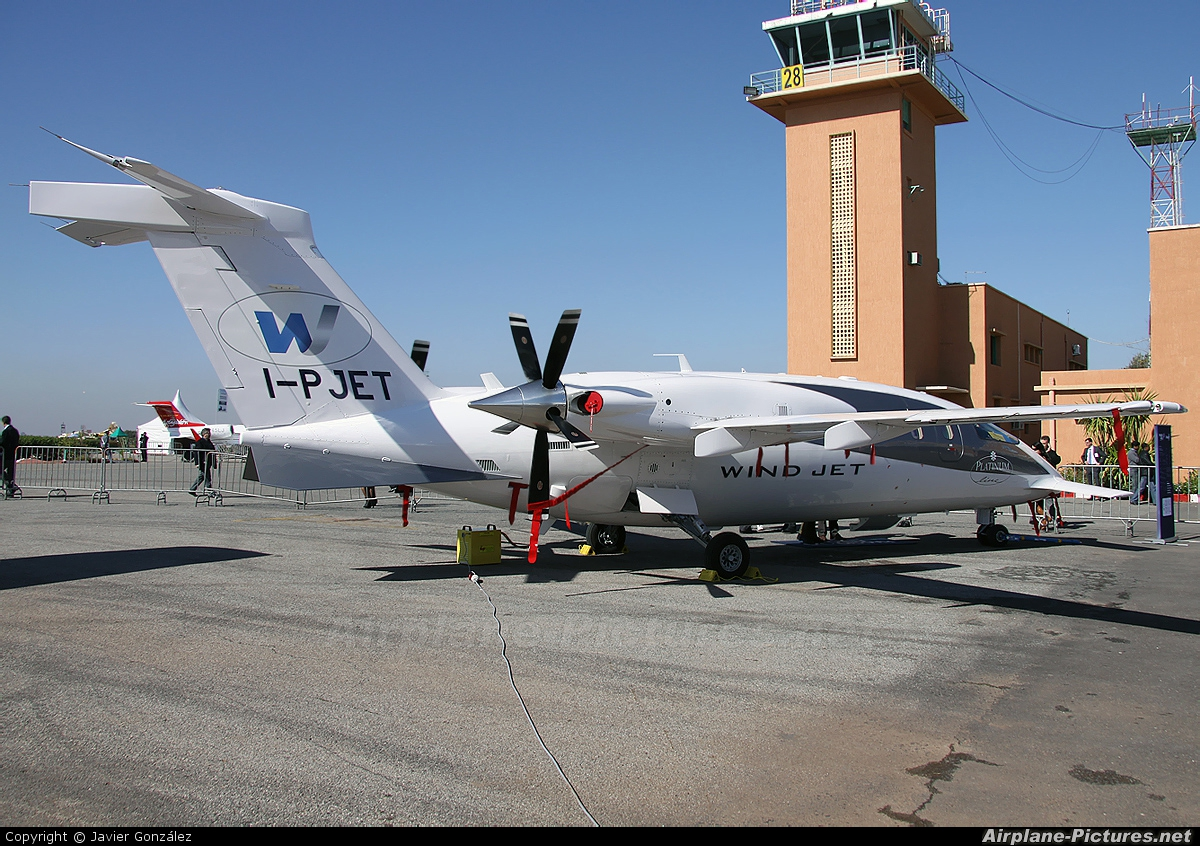 Windjet I-PJET aircraft at Marrakech - Menara