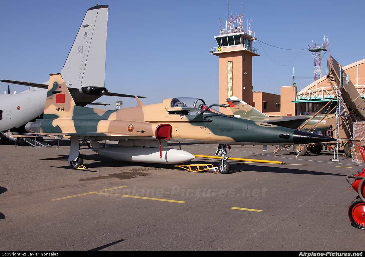 Morocco - Air Force 91924 aircraft at Marrakech - Menara