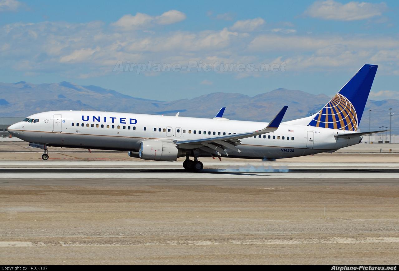 United Airlines N14228 aircraft at Las Vegas - McCarran Intl