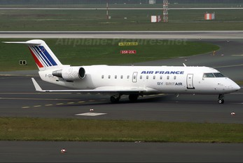 F-GRJF - Air France - Brit Air Canadair CL-600 CRJ-100