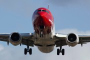 LN-DYB - Norwegian Air Shuttle Boeing 737-800 aircraft